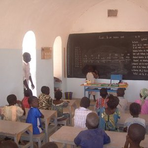 Literacy room in Kodeni