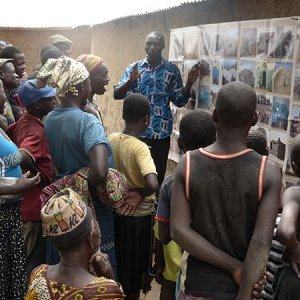 Rural awareness raising campaign in Benin