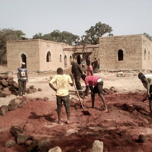 NV Building site of the Artisanal Production Unit in Niéna (Mali)
