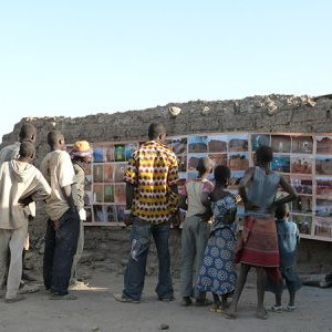 Rural awareness raising campaign in Burkina Faso