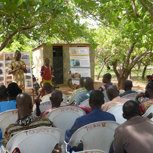 Awareness of farmer's group in Benin