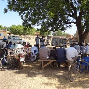 Sensibilisation rurale au Burkina Faso