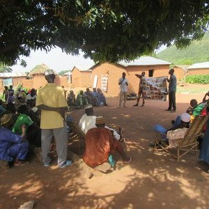 Rural awareness in Benin