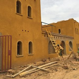 Construction of the Maison des Yvelines in Ourrosogui (Senegal)