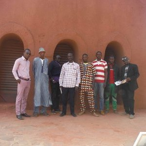 Visit of the NV School of Kati with Kounda 78