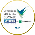 Social enterprise trophy (2011)