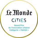 Grand Prix  de l'innovation urbaine  Le Monde Cities (2020)