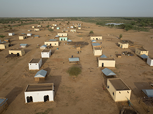 Diakré Village built in NV (Mauritania)